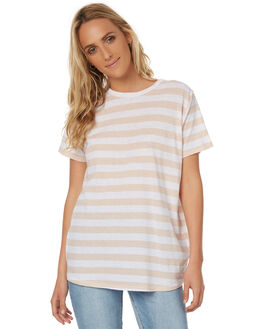 STRIPE WOMENS CLOTHING ASSEMBLY TEES - AW-S17101STR