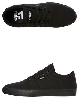 BLACK MENS FOOTWEAR ETNIES SKATE SHOES - 4101000509001