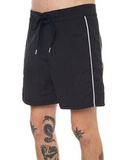 BLACK MENS CLOTHING NO NEWS BOARDSHORTS - N5171235BLACK