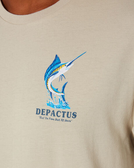 PUTTY MENS CLOTHING DEPACTUS TEES - D5203100PUTTY