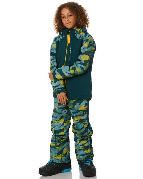 GREEN AOP BOARDSPORTS SNOW O'NEILL KIDS - 0P30746900