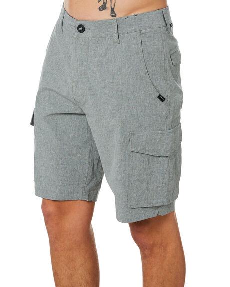 OLIVE GREY MENS CLOTHING RIP CURL SHORTS - CWABL90058