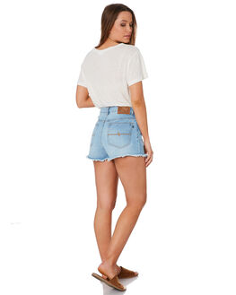CHALK BLUE WOMENS CLOTHING RUSTY SHORTS - WKL0627CKU