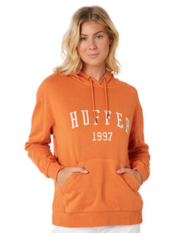 ORANGE WOMENS CLOTHING HUFFER JUMPERS - WHD91S531-342ORA