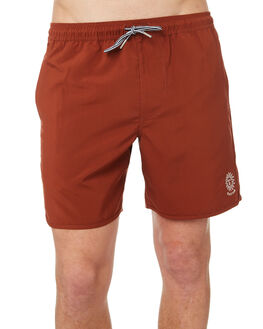 BURNT CLAY MENS CLOTHING RHYTHM BOARDSHORTS - OCT18M-JM10-CLA