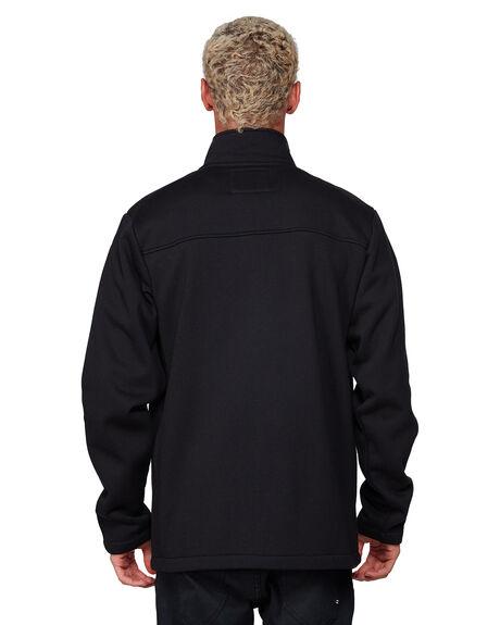 BLACK MENS CLOTHING BILLABONG HOODIES + SWEATS - BB-9507626-BLK