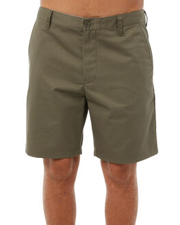 OLIVE MENS CLOTHING OUTERKNOWN SHORTS - 1710021OLV
