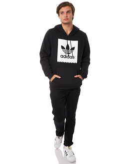 BLACK MENS CLOTHING ADIDAS JUMPERS - CW2358BLK