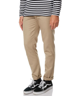 KHAKI MENS CLOTHING DICKIES PANTS - WE872KHA