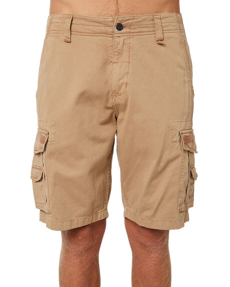 KHAKI MENS CLOTHING RIP CURL SHORTS - CWAKU10064