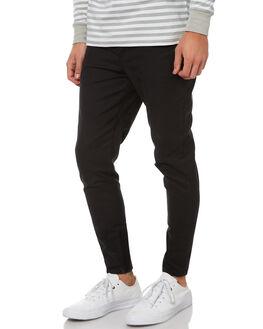BLACK MENS CLOTHING ZANEROBE PANTS - 702-GRPHBLK