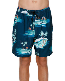 DARK BLUE KIDS BOYS BILLABONG BOARDSHORTS - BB-8591418-B69