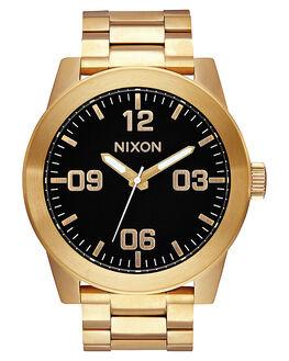 ALL GOLD BLACK MENS ACCESSORIES NIXON WATCHES - A346510