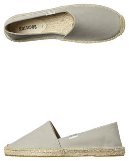 GREY WOMENS FOOTWEAR SOLUDOS FLATS - FOR1001-020