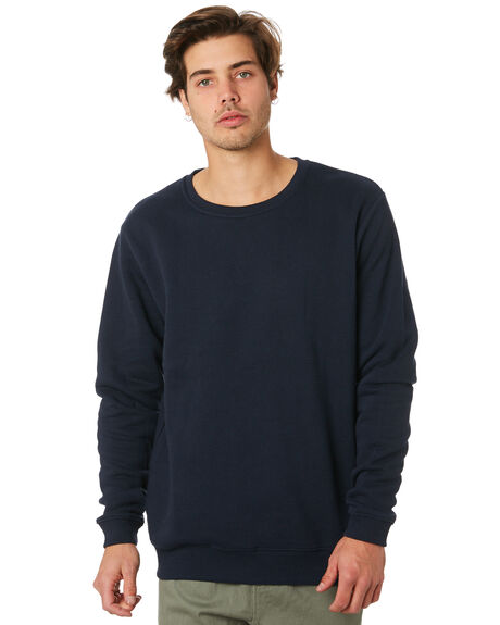 NAVY MENS CLOTHING SWELL JUMPERS - S5164445NVY