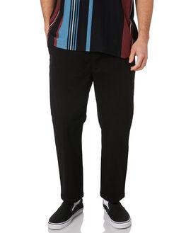 NEW BLACK MENS CLOTHING STUSSY PANTS - ST095604NBLK