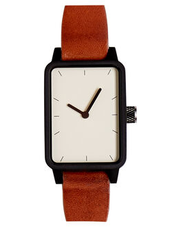 TAN BLACK WHITE MENS ACCESSORIES SIMPLE WATCH CO WATCHES - SW07-30TNBLK