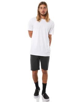 BLACK MENS CLOTHING BRIXTON SHORTS - 04092BLACK