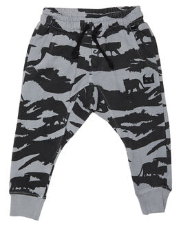 WASHED BLACK KIDS TODDLER BOYS MUNSTER KIDS PANTS - MK172TR04WBLK