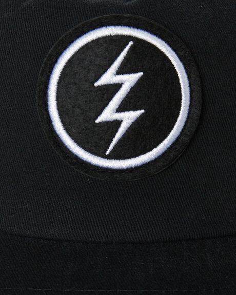 BLACK MENS ACCESSORIES ELECTRIC HEADWEAR - EC-12-49-01BLK