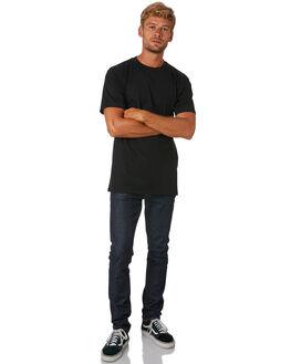 BLACK MENS CLOTHING AS COLOUR TEES - 5027BLACK