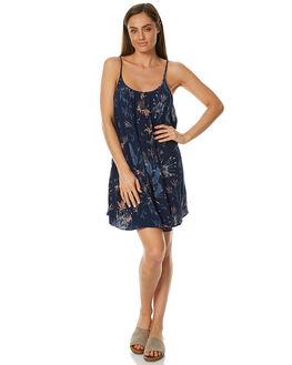 BLUES SWIM WOMENS CLOTHING ROXY DRESSES - ERJX603090BLUES