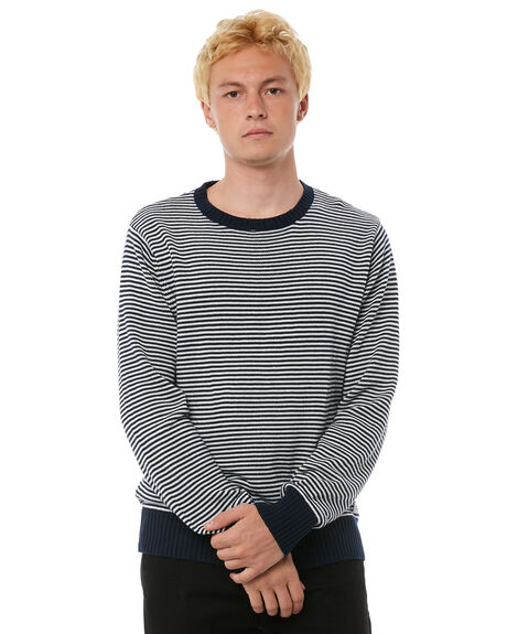 DIRTY DENIM OUTLET MENS BANKS KNITS + CARDIGANS - WKN0029DDN