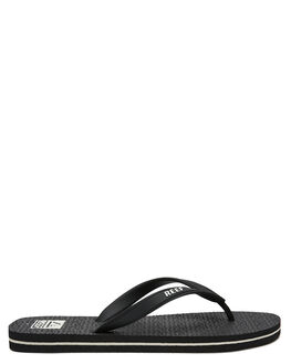 BLACK MENS FOOTWEAR REEF THONGS - 218BLA