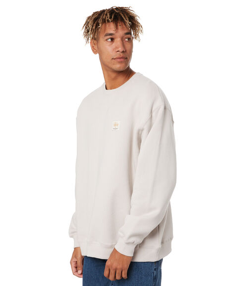 WHITE SAND MENS CLOTHING STUSSY JUMPERS - ST007203WTSND