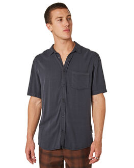 BLACK MENS CLOTHING INSIGHT SHIRTS - 5000003615BLK