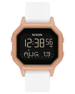 ROSE GOLD WHITE WOMENS ACCESSORIES NIXON WATCHES - A1211-1045