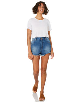 ASHLEY BLUE WOMENS CLOTHING ROLLAS SHORTS - 12792-3993