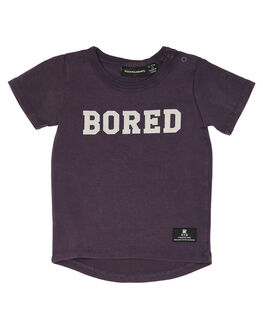 GRAPE WASH KIDS BABY ROCK YOUR BABY CLOTHING - BBT1832-BGRPW