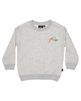 GREY MARLE KIDS TODDLER BOYS RUSTY JUMPERS - FTR0191GMA