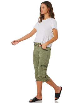 KHAKI WOMENS CLOTHING SWELL PANTS - S8201198KHAKI