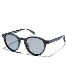 MATTE BLACK MENS ACCESSORIES LOCAL SUPPLY SUNGLASSES - STATIONBKM1