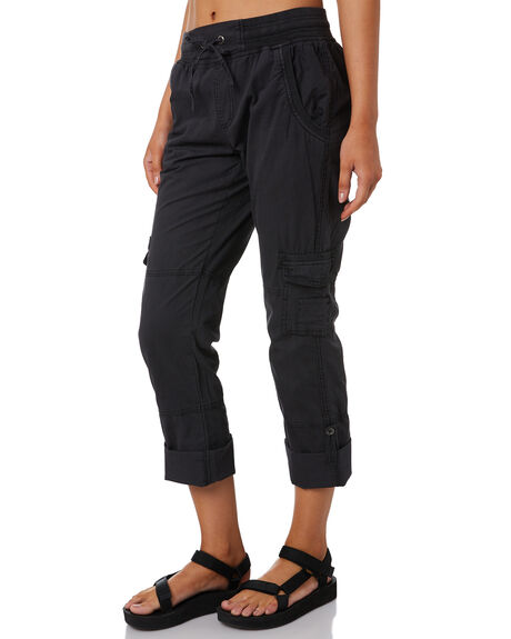 WASHED BLACK OUTLET WOMENS SWELL PANTS - S8201191WBLK