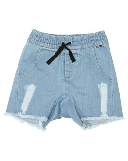 BLEACHED BLUE KIDS TODDLER BOYS MUNSTER KIDS SHORTS - MK172WS02BLCHB