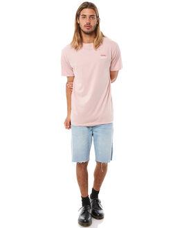 ROSE SMOKE MENS CLOTHING THRILLS TEES - TH8-135PRSMK