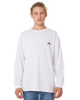 WHITE MENS CLOTHING RUSTY TEES - TTM2169WHT