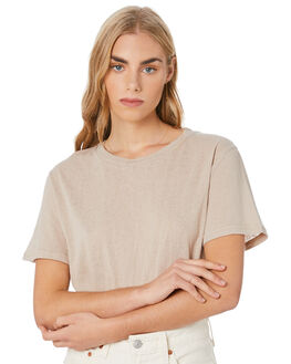 TAN WOMENS CLOTHING SWELL TEES - S8201006TAN