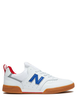 WHITE ROYAL MENS FOOTWEAR NEW BALANCE SNEAKERS - NM288SWG_WRYL