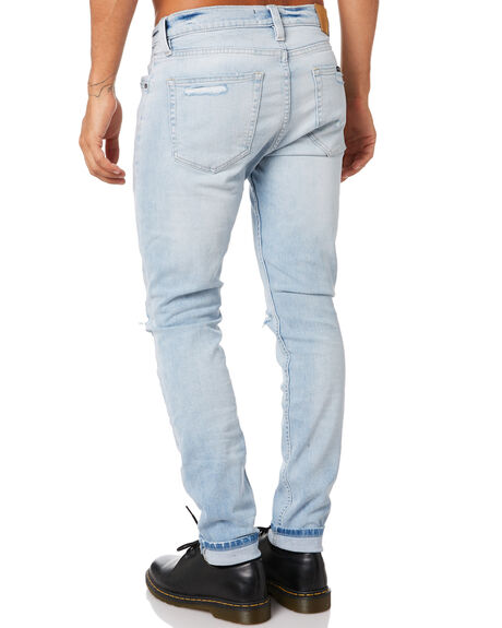 4 WAY BLEACH MENS CLOTHING ROLLAS JEANS - 158245224