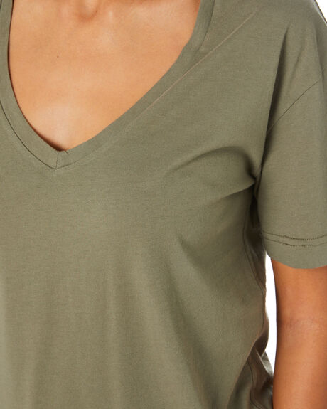 DESERT SAGE WOMENS CLOTHING SWELL FASHION TOPS - S8211001SWAMP
