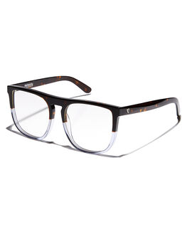CHOCOLATE TORT CLEAR MENS ACCESSORIES VALLEY SUNGLASSES - S0226CHOC