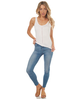BLUE WHISPER WOMENS CLOTHING RIDERS BY LEE JEANS - R-551310-DN4
