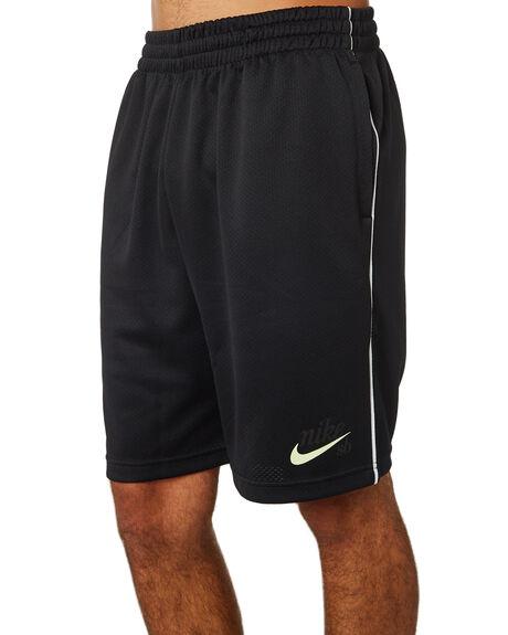 BLACK MENS CLOTHING NIKE SHORTS - AJ9771010