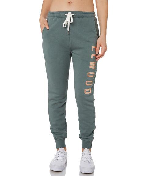 HUNTER GREEN WOMENS CLOTHING ELWOOD PANTS - W9161343S