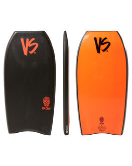 BLACK RED SURF BODYBOARDS VS BODYBOARDS BOARDS - V18IKON43BLBLKRD