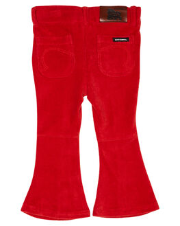 RED KIDS GIRLS ROCK YOUR KID PANTS - TGP1939-FRRED